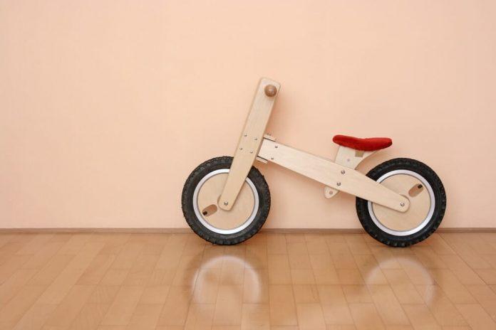 draisienne bois - enfant - avec frein - dresienne - en bois - garcon