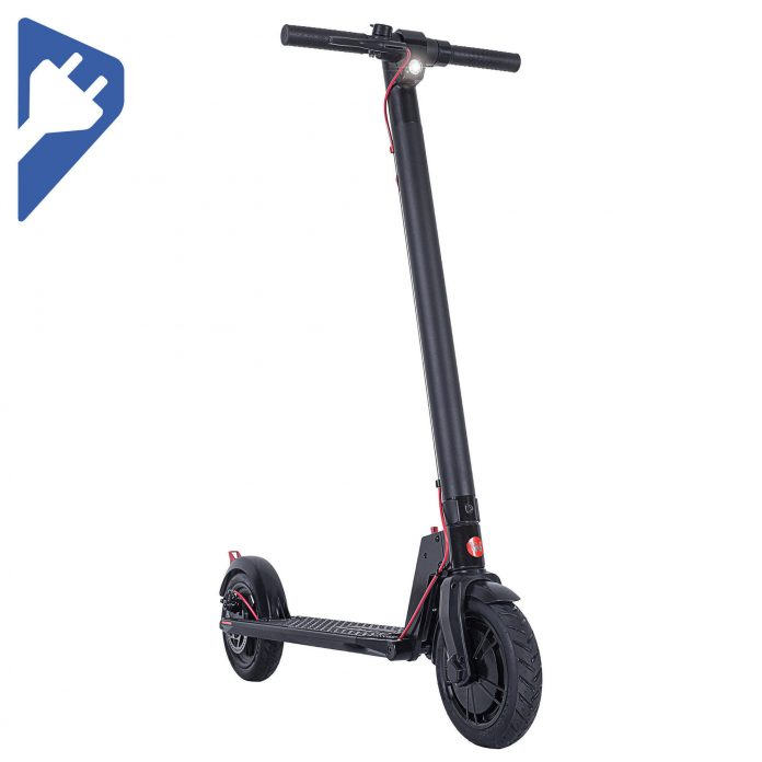 trottinette électrique - patinette - gyrophare - grosse roue - adulte - pliable