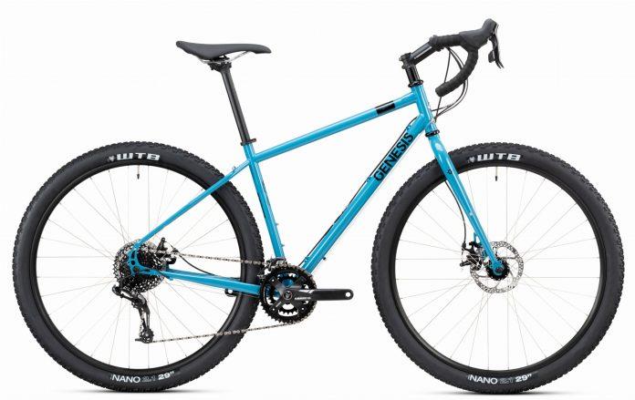 velo gravel - acier - randonnée - cadre - bike - vtt